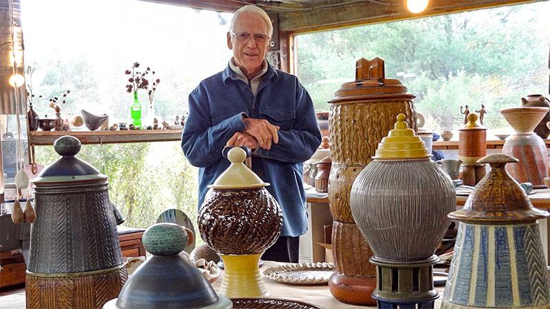 Photo - Eric Cushing Pottery
