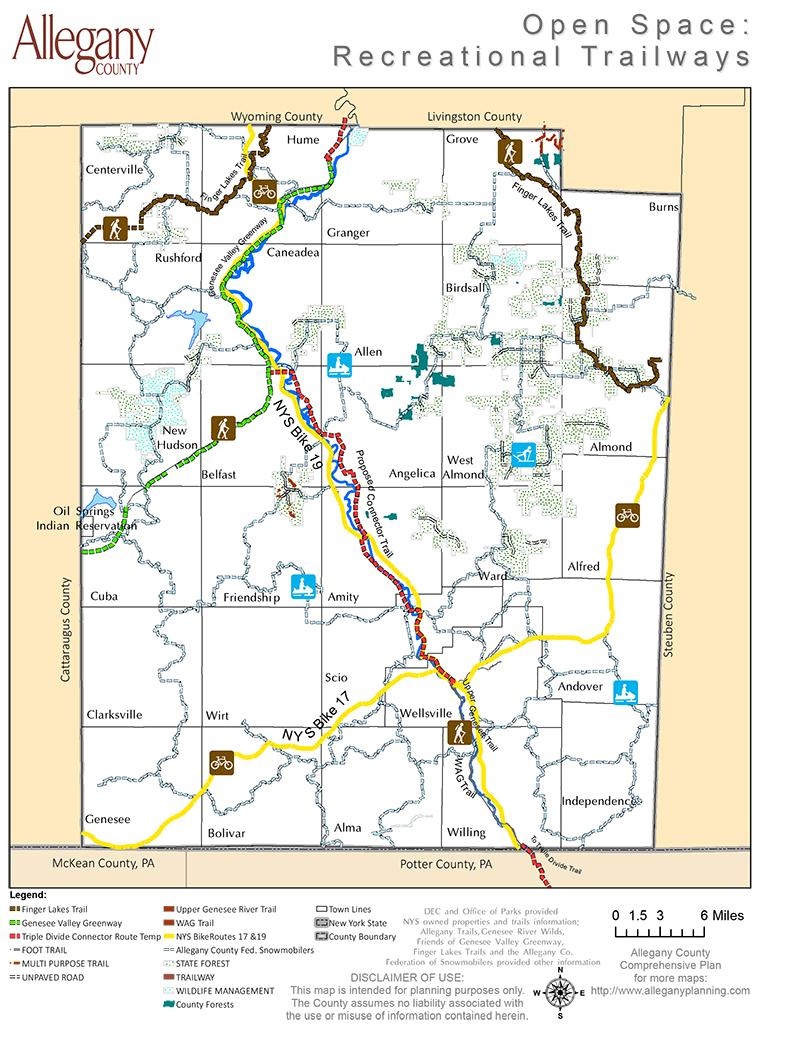 Recreational Trailways & Bike Paths