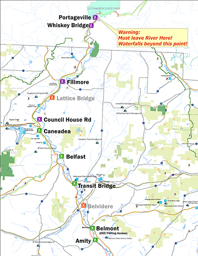Genesee River Access Points