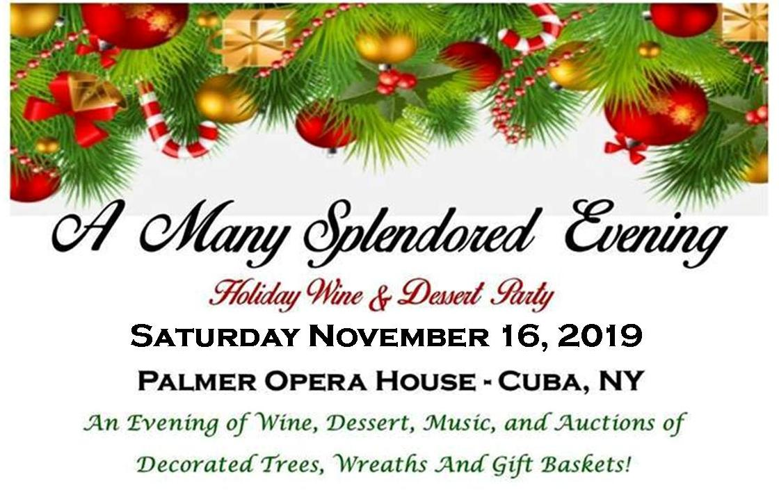 Christmas In Cuba 2019.A Many Splendored Evening Discover Allegany County