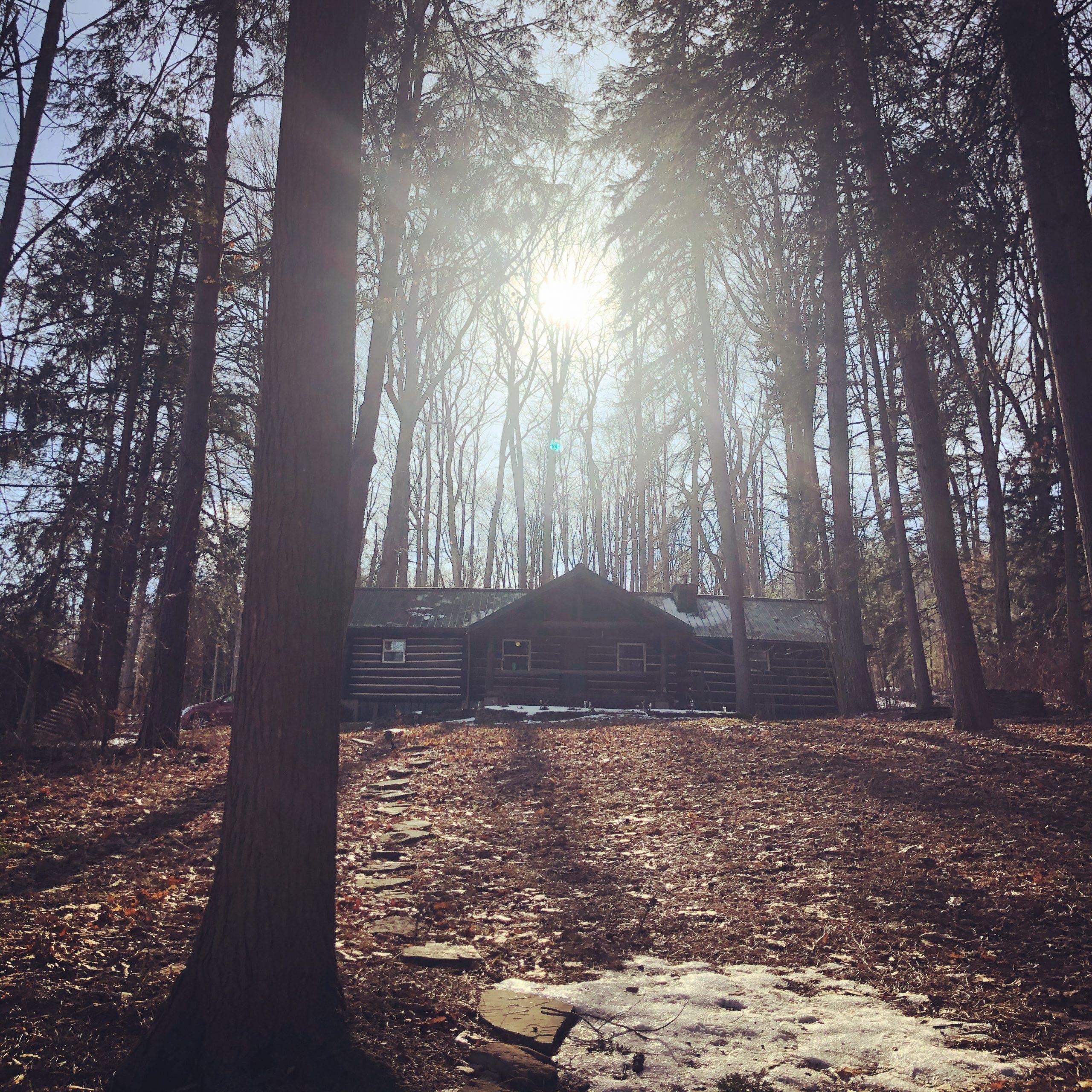 Photo - Rushford Lake Log Cabin
